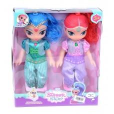 Кукли Искрица и Сияйница в кутия