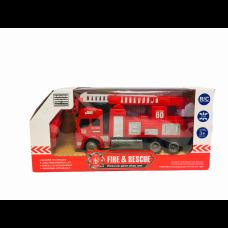 Пожарна кола с радио контрол, светлини и звуци