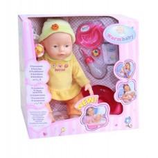 WARM BABY - Пишкаща кукла с  8 функции